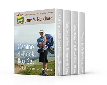 Camino 4-Book Box Set: See, Feel, Prep, and Enjoy the Camino (Woman On Her Way 6)