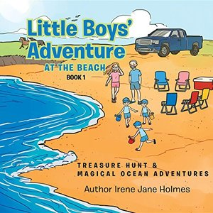 LITTLE BOYS' ADVENTURE AT THE BEACH: Treasure Hunt & Magical Ocean Adventures