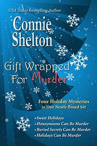 Gift Wrapped For Murder: Four Holiday Mysteries in One Neatly Boxed Set (Charlie Parker Mystery Series)