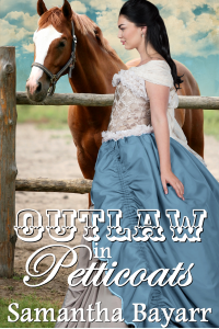 Outlaw in Petticoats: Heart of the Frontier (Western Prairie Brides Book 1)