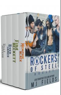 Rockers of Steel: Box set: Memphis Black, Finn Beckett, River James, and Billy Jeffers.