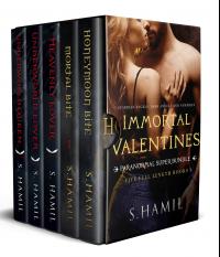 Immortal Valentines: Paranormal Super Bundle (Vampires, Dark Angel Love) (Golden Vampires of Tuscany, The Guardians)