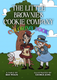 The Little Brownie's Cookie Company Coloring Book