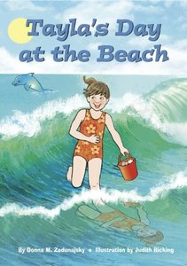 Tayla's Day at the Beach (Tayla Series Book 6)