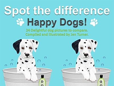 Spot the difference - Happy Dogs!