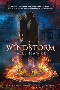 Windstorm (The Hawthorne University Witch Series Book 2)