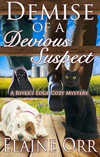 Demise of a Devious Suspect (River's Edge Cozy Mysteries Book 3)