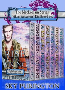The MacLomain Series- Viking Ancestors' Kin Boxed Set (Books 1-7)