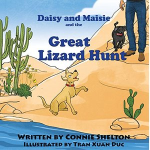 Daisy and Maisie and The Great Lizard Hunt: Early reader bedtime stories with values for kids (Adventures of Daisy and Maisie Book 1)