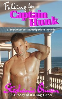 Falling for Captain Hunk: a Beachcomber Investigations Novella