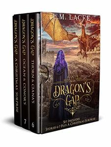 Dragon's Gap: Dragon Shifter Romance Stories 6-7 Plus A Christmas Surprise