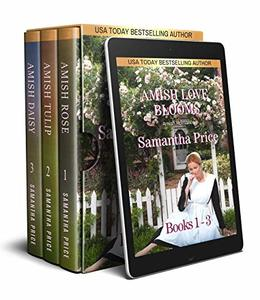 Amish Love Blooms Books 1 - 3: Amish Romance