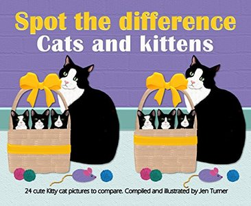 Spot the difference - Cats and kittens