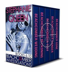 Beachcomber Investigations: Books 6-10: A Romantic Detective Series