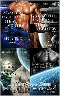 Galactic Cyborg Heat Series Books 1 - 4 Bundle Deal