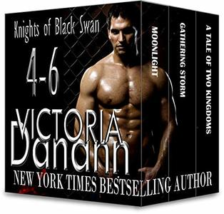 Knights of Black Swan, Books 4-6 (Knights of Black Swan Box Set Book 2)