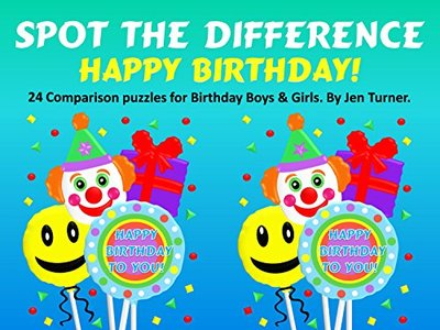 Spot the difference - Happy Birthday!