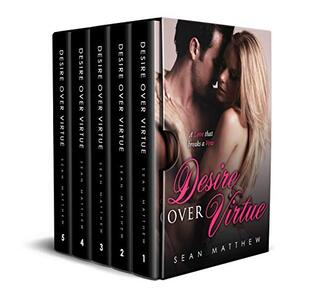 Desire Over Virtue: Boxed Set (Complete Vols. 1 -5, Desire Over Virtue Series) : A Love that breaks a Vow