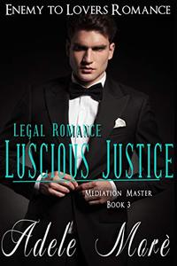 Luscious Justice (Legal Romance Series) Book 3: Mediation Master: Enemies to Lovers Romance