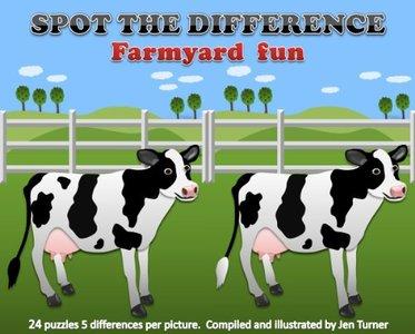 Spot the difference - Farmyard Fun