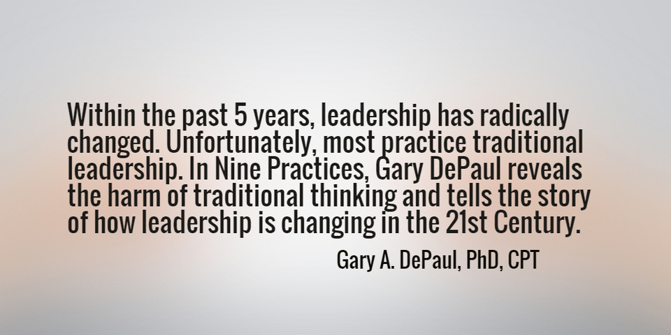 within the past 5 years leadership has radically changed unfortunately most practice...