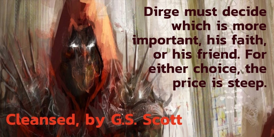 dirge must decide which is more important his faith or his friend for either choice...