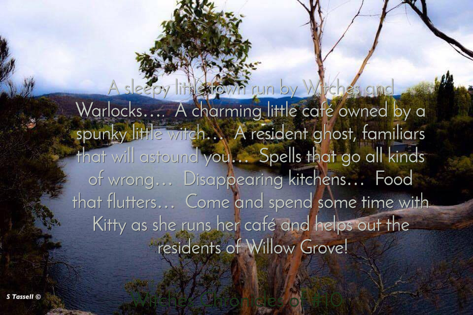 a sleepy little town run by witches and warlocks a charming little caf owned by a...