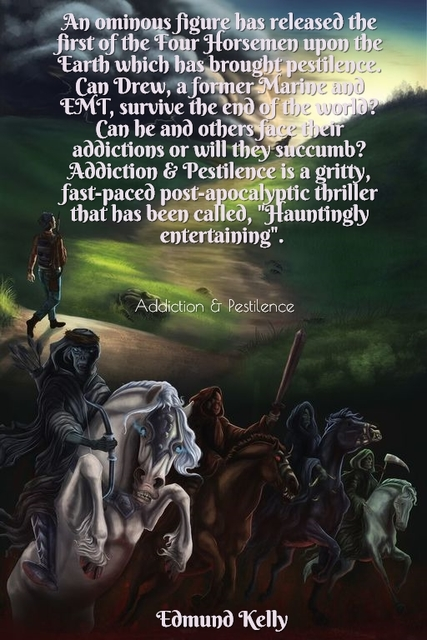 an ominous figure has released the first of the four horsemen upon the earth which has...