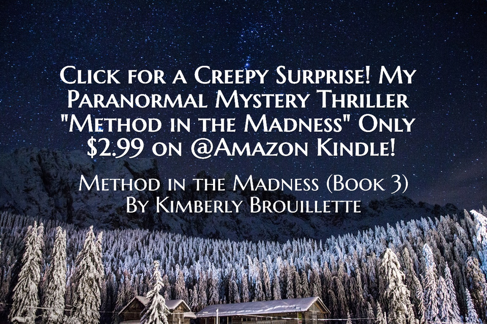 click for a creepy surprise my paranormal mystery thriller book 3 method in the...