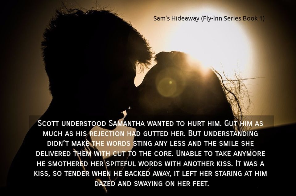 scott understood samantha wanted to hurt him gut him as much as his rejection had gutted...