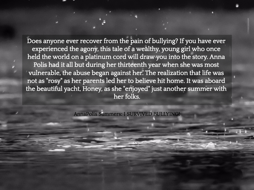 does anyone ever recover from the pain of bullying if you have ever experienced the...