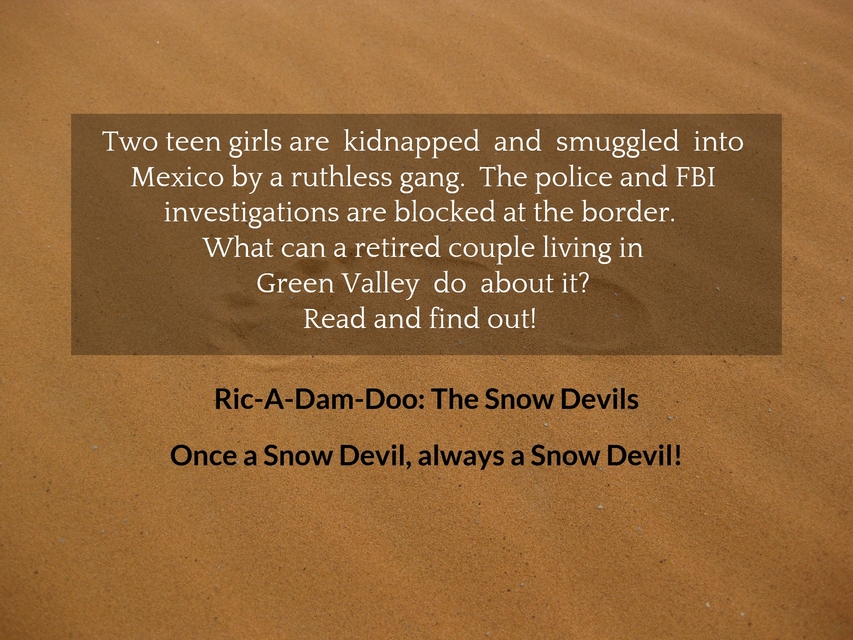 when two teen girls are kidnapped and smuggled into mexico the police and fbi...