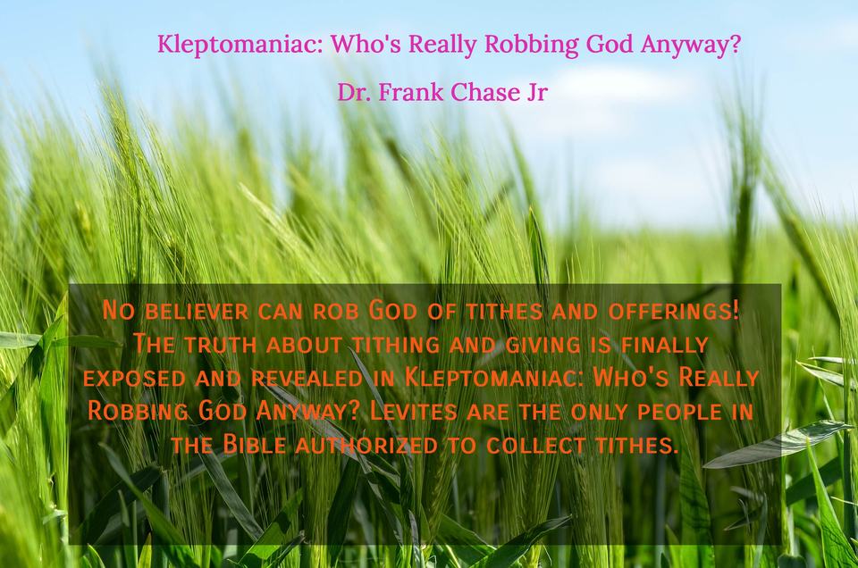 no believer can rob god of tithes and offerings the truth about tithing and giving is...