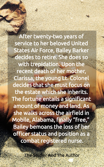 after twenty two years of service to her beloved united states air force bailey barker...