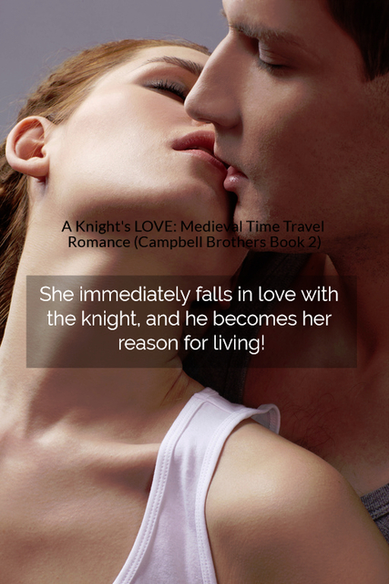 she immediately falls in love with the knight and he becomes her reason for living...