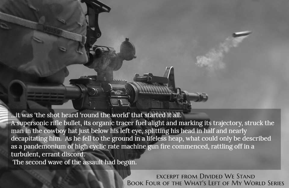 it was the shot heard round the world that started it all a supersonic rifle...