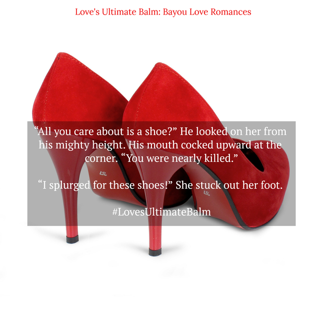 all you care about is a shoe he looked on her from his mighty height his mouth...