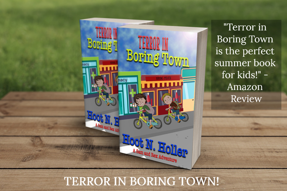 terror in boring town is the perfect summer book for kids...