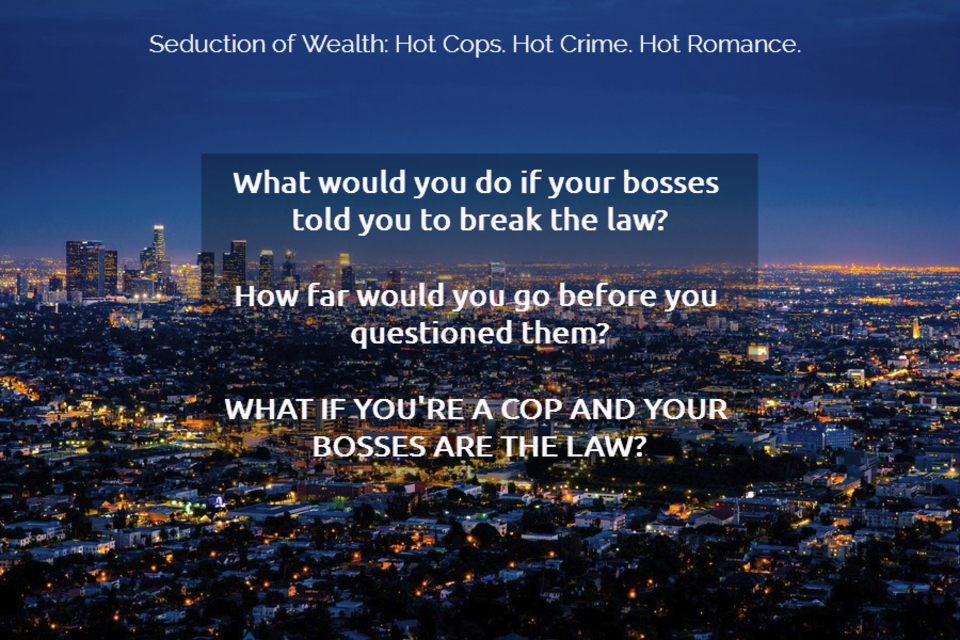 a juicy mix of cops crime and passion in this 1 bestselling series what would you do...