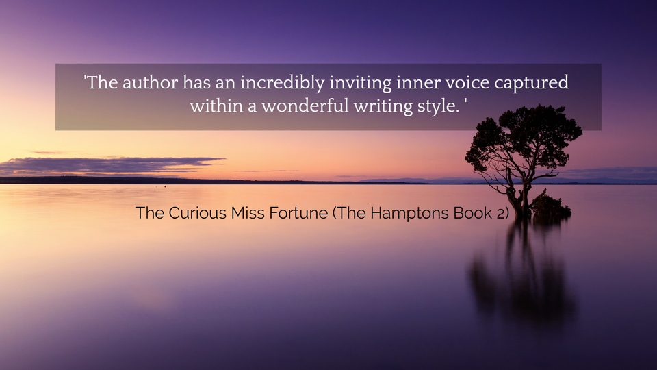 the author has an incredibly inviting inner voice captured within a wonderful writing...