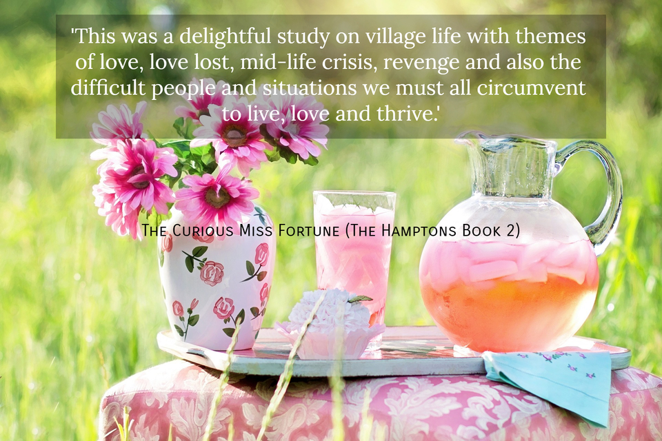this was a delightful study on village life with themes of love love lost mid life...