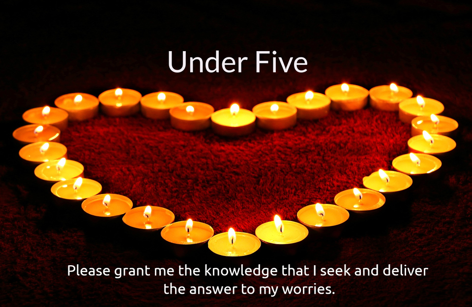 please grant me the knowledge that i seek and deliver the answer to my worries...