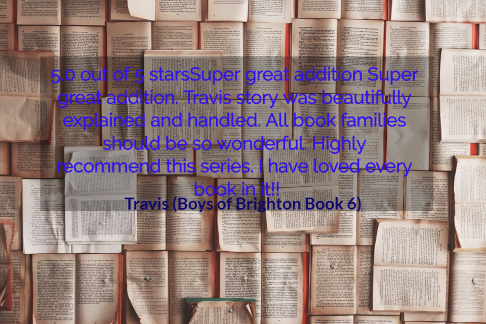 5 0 out of 5 starssuper great addition super great addition travis story was beautifully...