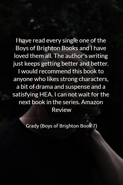 i have read every single one of the boys of brighton books and i have loved them all the...