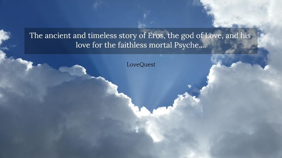 the ancient and timeless story of eros the god of love and his love for the faithless...