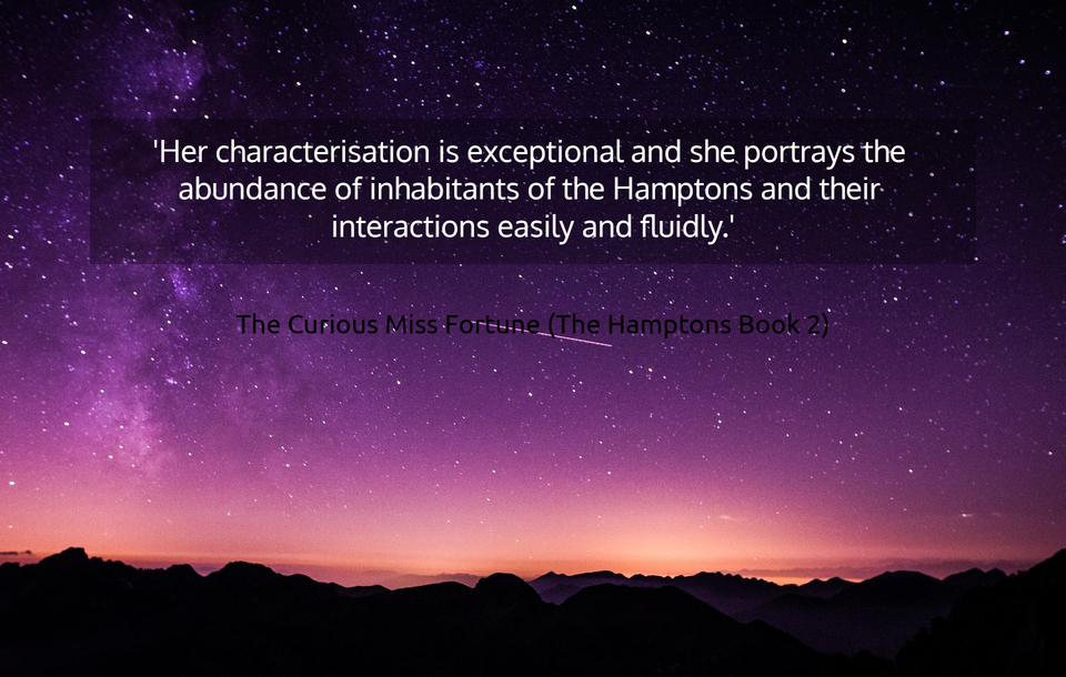 her characterisation is exceptional and she portrays the abundance of inhabitants of...