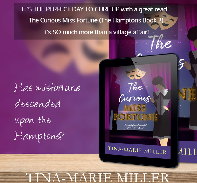 its the perfect day to curl up with a great read the curious miss fortune...