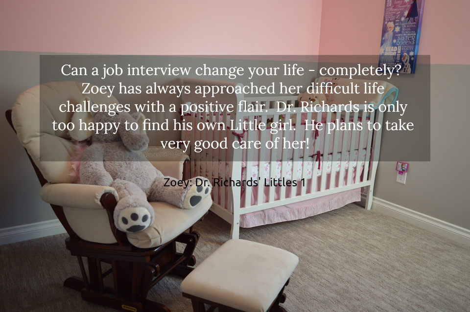 can a job interview change your life completely zoey has always approached her...