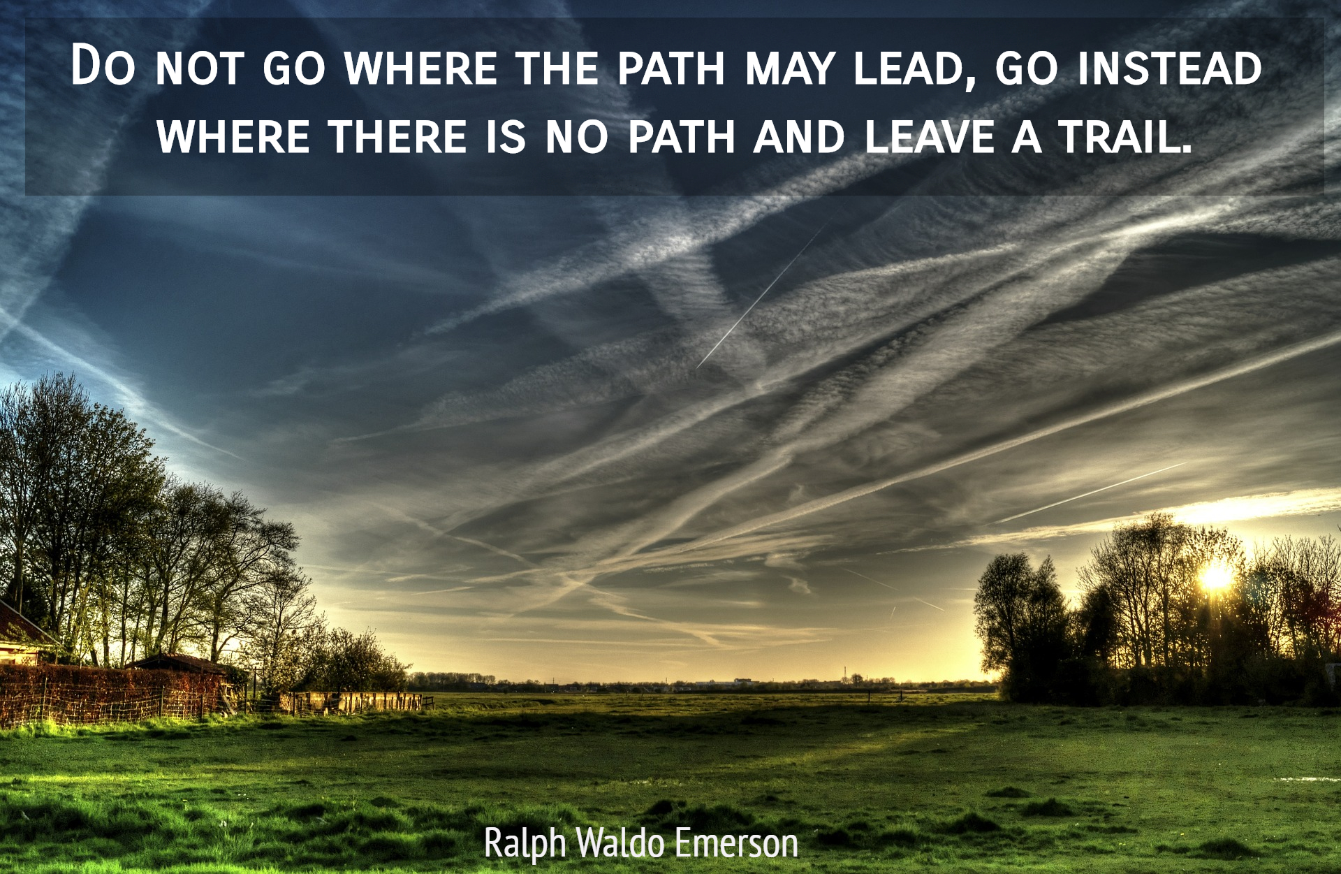 Do Not Go Where The Path May Lead Go Instead Picture Quotes 5238