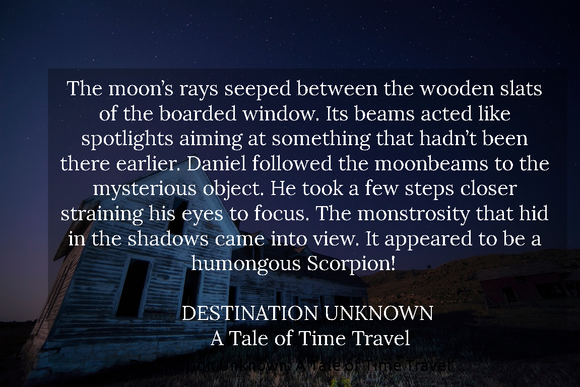 the moons rays seeped between the wooden slats of the boarded window its beams acted...